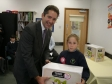 Jonathan Djanogly presents Tesco equipment for Schools and Clubs