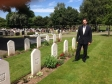Jonathan Djanogly visited Commonwealth War Graves in St Neots, Huntingdon and Wyton.
