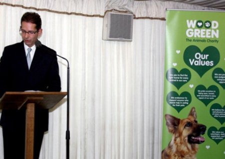 Jonathan Djanogly MP welcomes Wood Green to a House of Commons Terrace reception