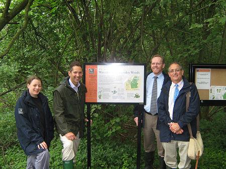 Visiting the Wildlife Trust's Gransden and Waresley Woods