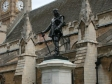 Oliver Cromwell statue outside House of Parliament
